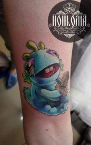 Временная татуировка. Правда или миф?